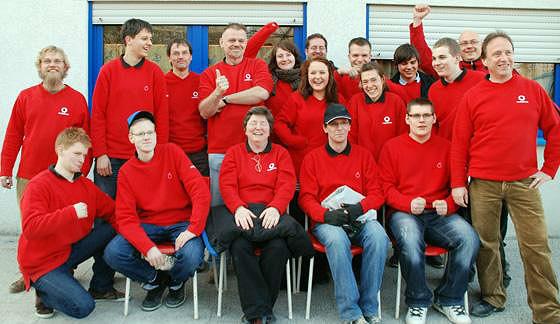 Die Mannschaft des Pétanqueverbands Thüringen 2011