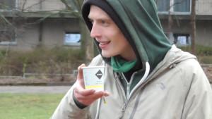 Gute Miene zum nassen Spiel: Paul Förster