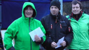 Platz 3 im B: Monika Kupsch, Rayk Lohse und Martina Franke