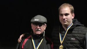 C-Sieger: Klaus Zimmermann und Jan Gosch