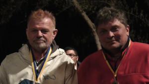 Sieger im B: Peter Adrian und Andrej Kriwoscheew