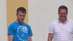 Vizechampions: Stefan und Andreas