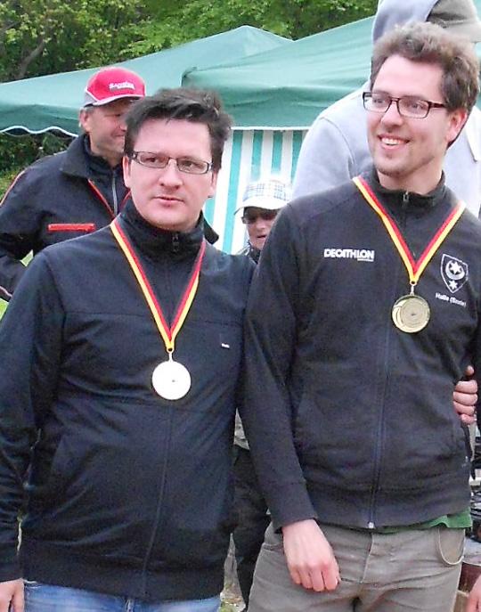 Landesmeister 2014: Veikko Dähne und Bastian Pelz