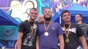 5 Spiele, 5 Siege: Stefan, Richard und Patrick