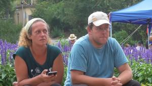 Den ganzen Tag Zuschauer: Antje und Stephan