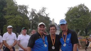 Platz 2: Michael, Martina und Detlef
