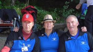 Team Ost02: Detlef, Martina und Michael