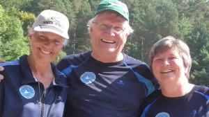 Wenig Siege und trotzdem glücklich: Jennifer, Oliver und Ruth