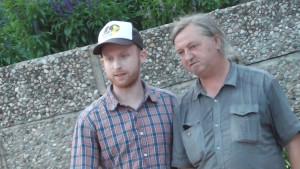 Zurück auf dem Spitzenplatz: Michael Kitsche und Hartmut Klatt