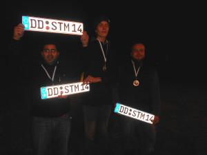 Gewannen im vergangenen Jahr die Dresdner Stadtmeisterschaft: Mahmut Tufan, Paul Förster und Richard Wendt