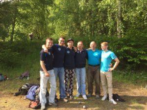 Die drei PV Ost-Teams auf der DM mit Step, Benny, Micha, Jens, Heiko und Johann