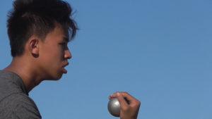 Fernöstliche Gelassenheit führt zum sicheren Sieg: Thi Dinh Vu