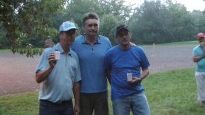Sieger im B: Detlef, Volker und Ingo