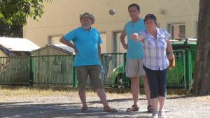 Unbekümmert zum Ziel: Günter, Frank und Ruth