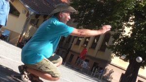 Mit Westernhut zum Ziel: Günter Berg