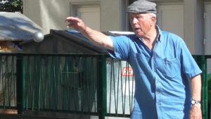 82 Jahre auf der Welt, davon aber nur zwei als Boulespieler: Lothar Müller!