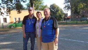 Chemnitz diesmal auf Platz 3: Detlef, Martina und Michael