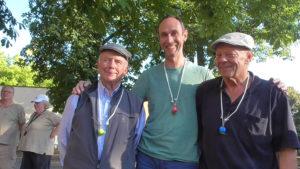 Auf Platz 2: Lothar, HW und Albert