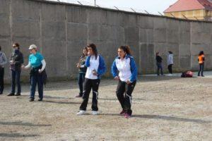 Ein ganz spezieller Turnierort: Das Boulodrom vor dem Gefängnis Nysa (PL)