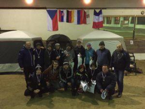 Step, Hannes und Jens holen sich den zweiten Platz beim Slatinany-Pokal in Tschechien
